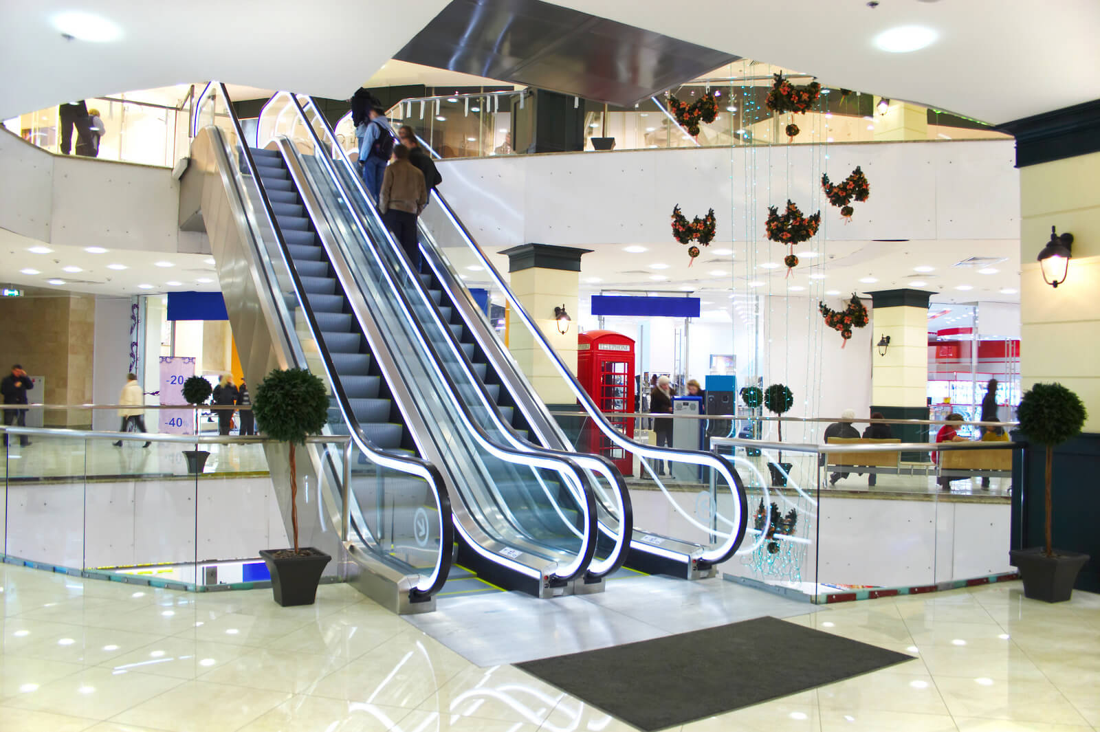 shopping centre cleaning service